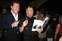 PIERS MORGAN and  at a party to celebrate the publication of Piers Morgan's book 'Don't You Know Who I Am?' held at Paper, 68 Regent Street, London W1 on 18th April 2007.<br /><br />NON EXCLUSIVE - WORLD RIGHTS