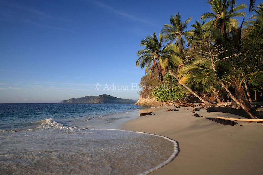 Quesera Beach, Curu Wildlife Refuge, Nicoya Peninsula, pacific coast of Costa Rica. <br />
