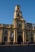 Exterior view, Museum of National History, Plaza de Armas, Santiago, Chile.