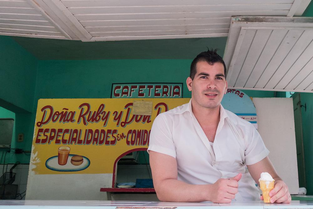 Cafe in Holguin.