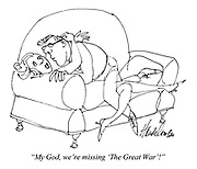 """My God, we're missing 'The Great War!"""