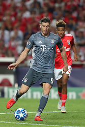 September 19, 2018 - Lisbon, Portugal - Bayern Munich's forward Robert Lewandowski from Poland in action during the UEFA Champions League Group E football match SL Benfica vs Bayern Munich at the Luz stadium in Lisbon, Portugal on September 19, 2018. (Credit Image: © Pedro Fiuza/NurPhoto/ZUMA Press)