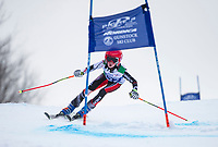 Piche Invitational giant slalom U14 boys  2nd run.    ©2019 Karen Bobotas Photographer
