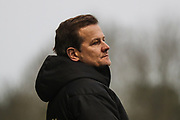 Forest Green Rovers head coach, Mark Cooper during the EFL Sky Bet League 2 match between Forest Green Rovers and Exeter City at the New Lawn, Forest Green, United Kingdom on 1 January 2020.