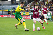 Burnley midfielder Robbie Brady (12) in possession of the ball  during the The FA Cup match between Burnley and Norwich City at Turf Moor, Burnley, England on 25 January 2020.