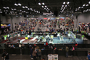 "March 14, 2015 - New York, NY. More than 160 teams of children and teenagers participated in the event ""For Inspiration and Recognition of Science and Technology"", at Javits Center. This is the first robotics competition being held in the city. 03/14/2015 Photograph by Isabel Riofrío/NYCity Photo Wire"
