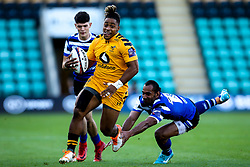 Paolo Odogwu of Wasps - Mandatory by-line: Robbie Stephenson/JMP - 13/09/2019 - RUGBY - Franklin's Gardens - Northampton, England - Bath Rugby 7s v Wasps 7s - Premiership Rugby 7s