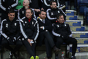 Fulham Manager Slaviša Jokanovic during the Sky Bet Championship match between Preston North End and Fulham at Deepdale, Preston, England on 5 April 2016. Photo by Pete Burns.
