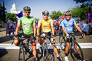 Tour of Thailand 2015/ Stage2/ Buri Ram - Roi-Et/ Bridgestone Anchor/ Uchima Kohei/ Loh Sea Keong/ Malaysia/ Kim Ok Cheol/ Seoul Cycling