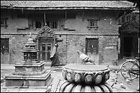 Nepal. Vallée de Kathmandu. Patan. // Nepal. Kathmandu valley. Patan.