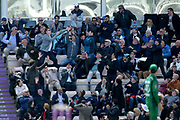 The crowd attempts to catch a Joss Buttler six during the second Royal London One Day International match between England and Pakistan at the Ageas Bowl, Southampton, United Kingdom on 11 May 2019.