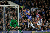 Photo: Marc Atkins.<br /> Chelsea v Aston Villa. Carling Cup. 08/11/2006.<br /> Andriy Shevchenko scores for Chelsea.