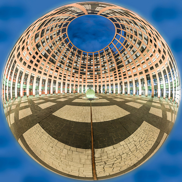 European Parliament of Strasbourg.<br /> Cr&eacute;dit Paul Marnef / ISOPIX