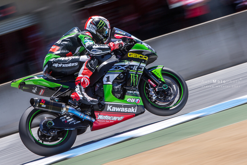 World Superbike Championship, Round 9, Laguna Seca, USA, 10 July 2016