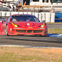 Risi Competizione competing at the 59th Mobil 1 12 Hours of Sebring, March 19, 2011