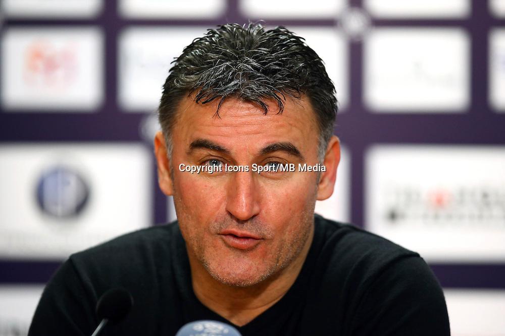Christophe Galtier - 28.02.2015 - Toulouse / Saint Etienne - 27eme journee de Ligue 1 -<br />Photo : Manuel Blondeau / Icon Sport