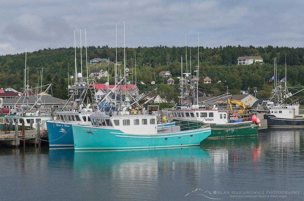 Fishing Boats, Bay of Fundy, Alma, New Brunswick