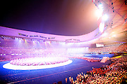 The Opening Ceremony of the 2008 Beijing Paralympic games. Beijing China. 6th September 2008