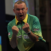 PDC WORLD MATCHPLAY 2017, DARTS, PDC, PDC DARTS, PIC : CHRIS SARGEANT, DARREN WEBSTER, JAMES WADE, TIP TOP PICS, WEBSTER 13-11 WADE