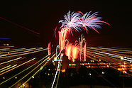 2005 - Fireworks from Mongtomery County Fairgrounds