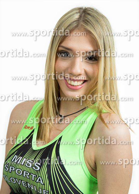 Iris Latic na izboru za Miss Sporta Slovenije 2015, on January 21, 2015 in Bled, Slovenia. Photo by Vid Ponikvar / Sportida