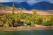 Lahaina Beach, Maui, Hawaii.