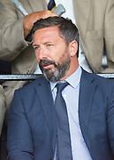 10th August 2019; Dens Park, Dundee, Scotland; SPFL Championship football, Dundee FC versus Ayr; Aberdeen manager Derek McInnes in the crowd