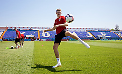 OSIJEK, CROATIA - Friday, June 7, 2019: Wales' David Brooks during a training session at Stadion Gradski vrt ahead of the UEFA Euro 2020 Qualifying Group E match against Croatia. (Pic by David Rawcliffe/Propaganda)