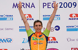 Jan Polanc at Slovenian National Championships in Road cycling, 178 km, on June 28 2009, in Mirna Pec, Slovenia. (Photo by Vid Ponikvar / Sportida)