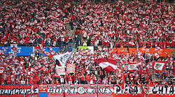 12.10.2014, Ernst Happel Stadion, Wien, AUT, UEFA Euro 2016 Qualifikation, Oesterreich vs Montenegro, Gruppe G, im Bild Fans // during the UEFA EURO 2016 qualifier group G match between Austria and Montenegro at the Ernst Happel Stadion, Vienna, Austria on 2014/10/12. EXPA Pictures © 2014, PhotoCredit: EXPA/ Thomas Haumer