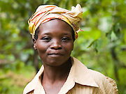 Olivia Namosa is a widow and was struggling to feed her family. Now with the help of Send a Cow and her peer farmer Beatrice's ecouragement she is able to look after her cow and grow enough food to feed her children.