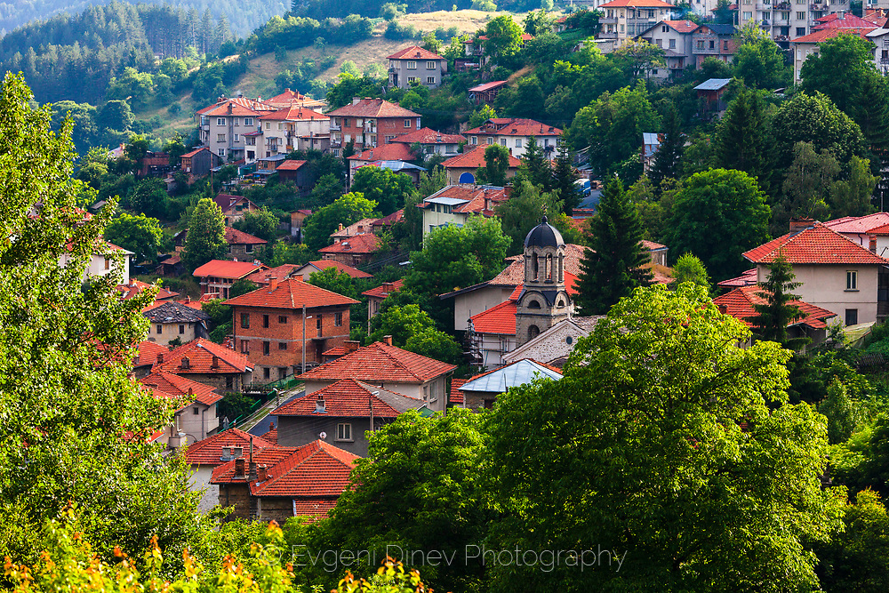 Bulgarian village in Rhodopes
