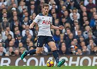 Football - 2016 / 2017 Premier League - Tottenham Hotspur vs. Leicester City<br /> <br /> Jan Vertonghen of Tottenham at White Hart Lane.<br /> <br /> COLORSPORT/DANIEL BEARHAM