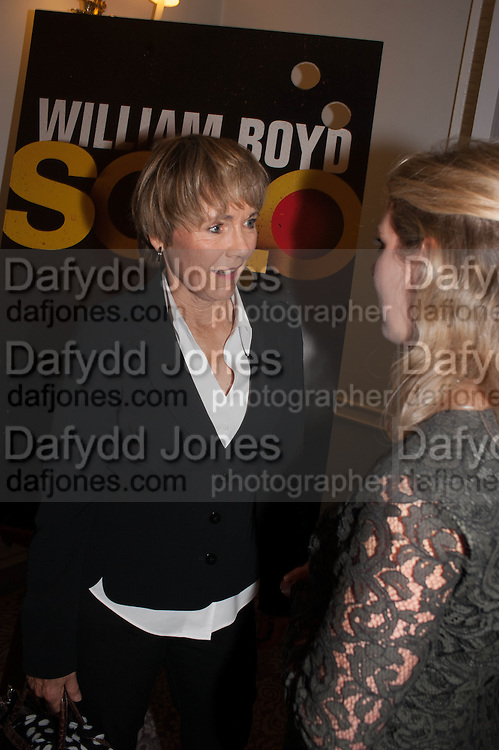 LUCY FLEMING The launch of 'Solo', the new James Bond novel written by William Boyd,  The Dorchester , PARK LANE, LONDON. 25 SEPTEMBER 2013.
