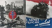 Resistance propaganda during World War II France
