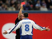Fotball. 23. oktober 2004, <br /> Bundesliga Bundesliga Hansa Rostock - FC Bayern München<br />  David Rasmussen Rostock