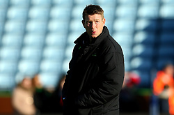 Worcester Warriors Head Coach Carl Hogg - Mandatory by-line: Robbie Stephenson/JMP - 12/11/2017 - RUGBY - Twickenham Stoop - London, England - Harlequins v Worcester Warriors - Anglo-Welsh Cup
