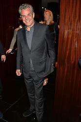 DANNY HUSTON at the Launch Of Alain Ducasse's Rivea Restaurant At The Bulgari Hotel, 171 Knightsbridge, London on 8th May 2014.