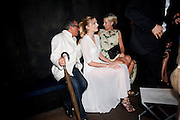 BROOSK SAIB; LILY DONALDSON; LADY SOPHIA HESKETH, The Summer party 2011 co-hosted by Burberry. The Summer pavilion designed by Peter Zumthor. Serpentine Gallery. Kensington Gardens. London. 28 June 2011. <br /> <br />  , -DO NOT ARCHIVE-© Copyright Photograph by Dafydd Jones. 248 Clapham Rd. London SW9 0PZ. Tel 0207 820 0771. www.dafjones.com.
