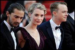 Mia Wasikowska attends the 'Lawless' Premiere during the 65th Annual Cannes Film Festival at Palais des Festivals, Cannes, France, Saturday May 19, 2012. Photo by Andrew Parsons/i-Images.