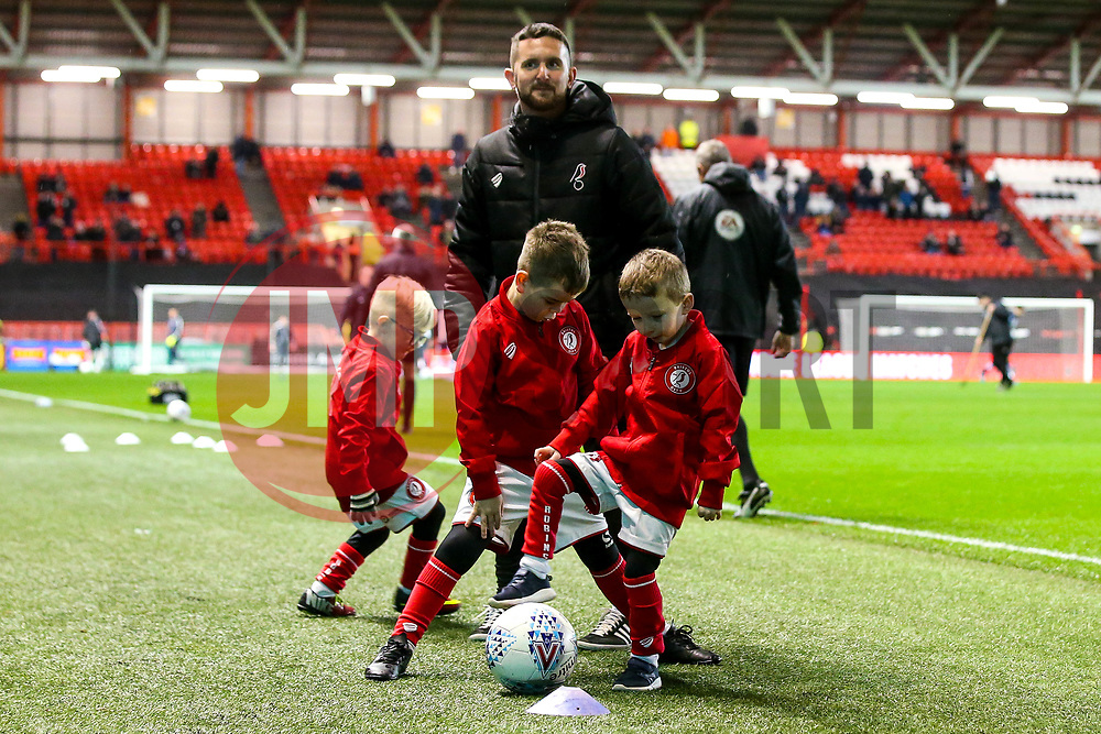 Bristol City mascots - Mandatory by-line: Robbie Stephenson/JMP - 10/12/2019 - FOOTBALL - Ashton Gate - Bristol, England - Bristol City v Millwall - Sky Bet Championship