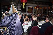 THE DUKE OF MARLBOROUGH; HENRIETTA CONRAD; LADY LINLEY; LORD LINLEY, Chinese New Year dinner given by Sir David Tang. China Tang. Park Lane. London. 4 February 2013.