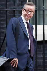 © licensed to London News Pictures. London, UK 08/01/2014. Education Secretary, Michael Gove leaving Downing Street on Wednesday, 08 January 2014. Photo credit: Tolga Akmen/LNP