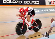 Belgium's Victor Campenaerts takes the UCI hour record in Aguascalientes, Mexico on 16 April 2019.<br /> Copyright photo: panoramic / www.photosport.nz