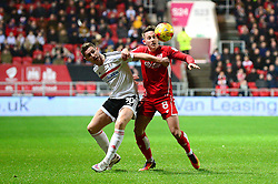 Josh Brownhill of Bristol City challenges for the ball with Tom Cairney of Fulham - Mandatory by-line: Dougie Allward/JMP - 22/02/2017 - FOOTBALL - Ashton Gate - Bristol, England - Bristol City v Fulham - Sky Bet Championship