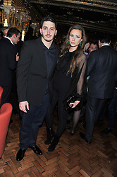 CAMILLA AL FAYED and MOHAMAD ESREB at the 50th birthday party for Patrick Cox held at the Café Royal Hotel, 68 Regent Street, London on 15th March 2013.