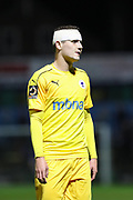Chester striker Anthony Dudley (10) during the Vanarama National League match between York City and Chester FC at Bootham Crescent, York, England on 13 November 2018.
