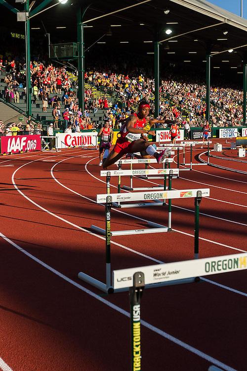 mens 400 hurdles, Tim Holmes, USA