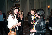 MARIE HELVIN; BELLA FREUD; SUE WEBSTER, Dinner to mark 50 years with Vogue for David Bailey, hosted by Alexandra Shulman. Claridge's. London. 11 May 2010 *** Local Caption *** -DO NOT ARCHIVE-© Copyright Photograph by Dafydd Jones. 248 Clapham Rd. London SW9 0PZ. Tel 0207 820 0771. www.dafjones.com.<br /> MARIE HELVIN; BELLA FREUD; SUE WEBSTER, Dinner to mark 50 years with Vogue for David Bailey, hosted by Alexandra Shulman. Claridge's. London. 11 May 2010