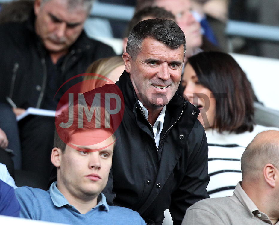 Former Manchester United and Republic of Ireland midfielder takes his seat at The iPro Stadium - Mandatory by-line: Robbie Stephenson/JMP - 07966386802 - 29/07/2015 - SPORT - FOOTBALL - Derby,England - iPro Stadium - Derby County v Villarreal CF - Pre-Season Friendly
